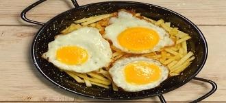 Rodajitas de huevo